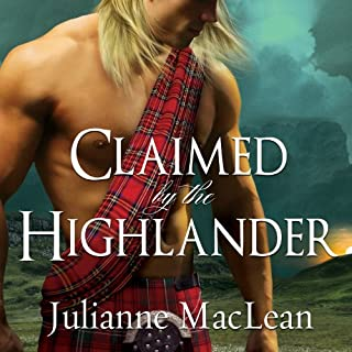 Claimed by the Highlander audiobook cover art
