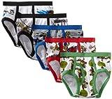 Nickelodeon Boys' Little Teenage Mutant Ninja Turtles Underwear, (Pack of 5), Assorted, 6