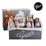 Gepp's Feinkost Grillmeister Geschenkbox   Feinkost-Geschenkkorb gefüllt mit den perfekten Zutaten zum Grillen, hergestellt nach eigener Rezeptur   Gourmet...