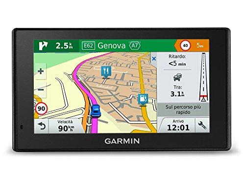 Garmin DriveSmart 70 LMT - GPS Auto - 7 Pouces - 45 pays - Cartes, Trafic et Zones de danger gratuits à vie - Appels Mains Libres