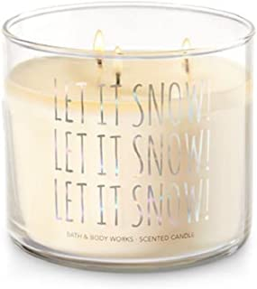 let it snow candle bath and body works