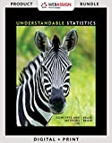 Bundle: Understandable Statistics: Concepts and Methods, 12th + JMP Printed Access Card for Peck's Statistics + WebAssign for Brase/Brase's ... 12th, Single-Term Printed Access Card