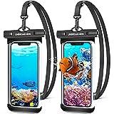 UNBREAKcable wasserdichte Handyhülle Unterwasser Handytasche - [2 Stück] 7.0 Zoll IPX8 wasserfeste hülle [Gebogenes Seitendesign] für Schwimmen, Baden für iPhone 12/11/Pro Max, Samsung und Mehr