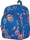Mochila Valencia CF, Mochila Colegio Adaptable a Carro para Mochilas Escolares, con Compartimento Único de Gran Capacidad y Bolsillo Frontal - Medidas 33 x 40 x 14 cm - Color Azul, F5