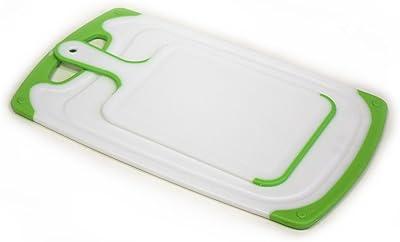 ZUCCOR - Juego de 2 tablas de cortar, Verde, 15.7 X 9.5 X 0.8, 1