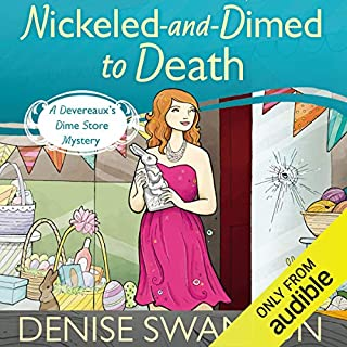 Nickled-and-Dimed to Death audiobook cover art
