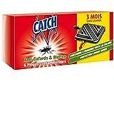 Catch Expert – Pièges Anti–Cafards & Blattes –6 pièges contaminateurs