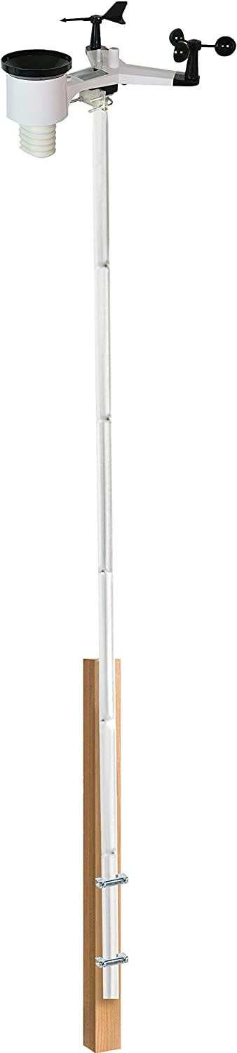 Ambient Weather Cheap mail order shopping EZ2-35W2MC Station Kit Mounting Pole Attention brand
