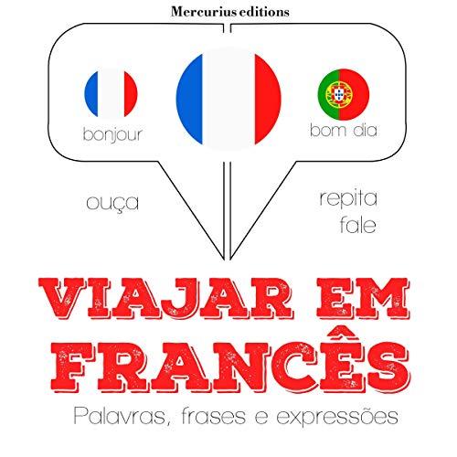 Diseño de la portada del título Viajar em francês