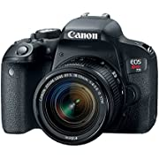 Canon EOS Rebel T7i EF-S 18-55mm IS STM Lens Kit,Black