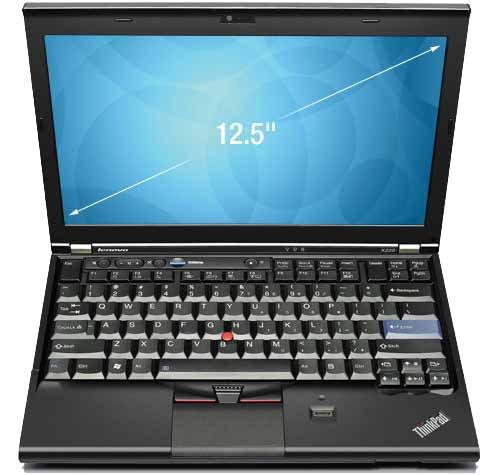 Lenovo ThinkPad X220 31,7 cm (12,5 Zoll) Laptop (Intel Core i7 2640M, 2,8GHz, 4GB RAM, 320GB HDD, Intel HD 3000, DVD, Win 7 Pro)