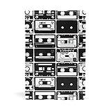 Fundas de libros A5 para libros de tapa blanda estilo retro antiguo, cintas de audio para cuadernos y suministros educativos para la escuela, productos de oficina