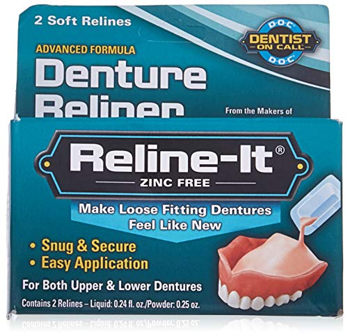 D.O.C. Reline-It Advanced Denture Reliner Kit