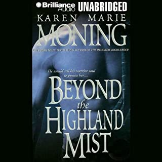Beyond the Highland Mist audiobook cover art