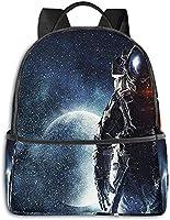 輝く夜空月 リュックバック リュックナップザック バッグ ノートパソコン用のバッグ 大容量 バックパックチ キャンパス バックパック 大人のバックパック 旅行 ハイキングナップザック 10