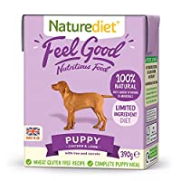 NUTRITIONALLY BALANCED - This complete and nutritionally balanced natural puppy food contains all the essential nutrients your puppy needs for a healthy diet. Made with freshly prepared Chicken and wholefoods. Suitable from 4 weeks to 12 months. 100%...