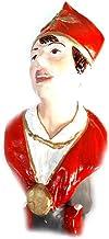 Figura Busto San Gennaro AMPOLLA Sangre 24 cm aproximadamente Terracota VIP artistas actores de maestros artesanos San Gregorio armenio Belén San G. Armenio un llavero no sheperds Crib