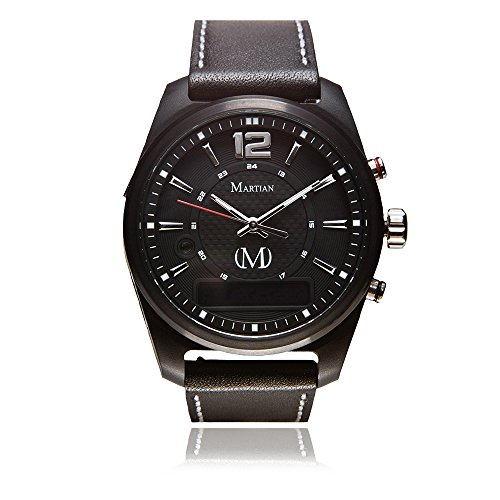 Martian mVoice Smartwatches with Amazon Alexa – Analog + Voice (B01MDLTZJI)