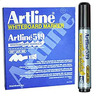 Artline 519 WHITEBOARD MARKER - Black (BOX OF 12 PCS)