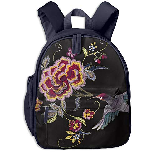 Kinderrucksack Kleinkind Jungen Mädchen Kindergartentasche G Orientalischer Blumenvogel Backpack Schultasche Rucksack