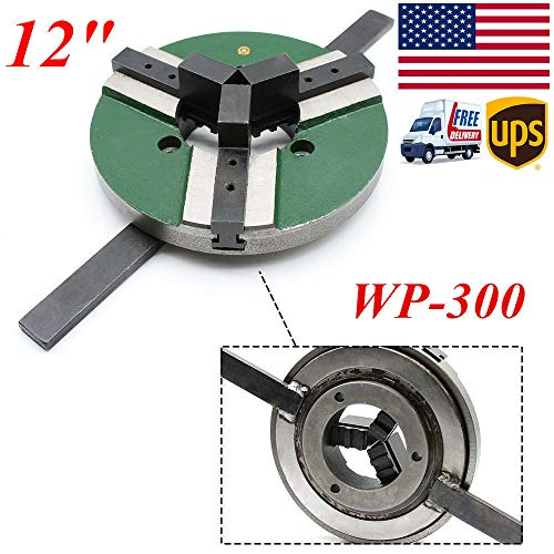 Lowest Price! 3 Jaw Self Centering Welding Table Chuck Positioner, WP300 Turnable Table Lathe Chucks...