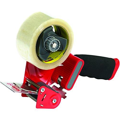 "3M ST181 Heavy Duty Carton Sealing Tape Dispenser, 2"", Red/Black, 1/Each, 3M Stock# 7000028763"