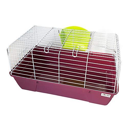 DZL- Jaula para Conejos/cobayas Cierre de Seguridad Jaula casa para Animales pequeños...