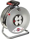Brennenstuhl 1195066 Garant S 4 Export - Tambor para Cable alargador (50 m, H05VV-F 3G1,5)