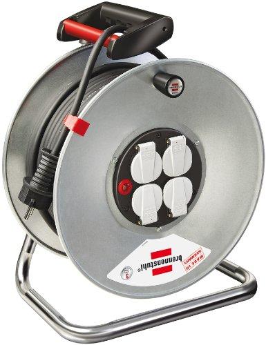 Brennenstuhl 1195066 Garant S 4 Export - Tambor para cable alargador (50...