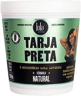 Máscara Tarja Preta Queratina Vegetal, Lola Cosmetics