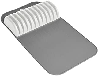 madesmart Large In-Drawer Knife Mat - White   CLASSIC COLLECTION   Holds up to 11 Knives   Safe   Open Design to fit Any Size Knife   Soft-grip Slots and Non-slip Mat   BPA Free