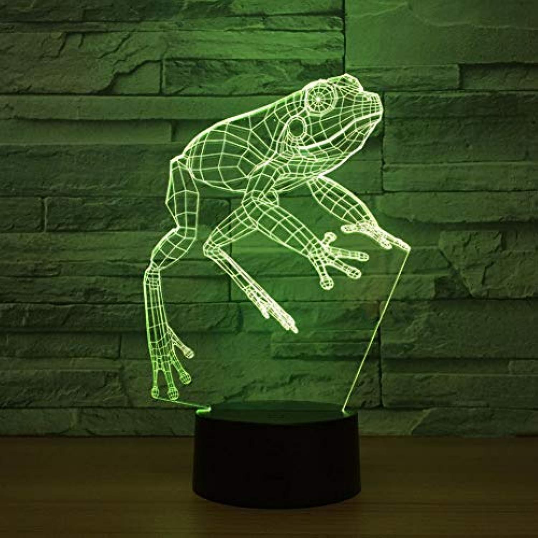 Zyue 3D Led Lampe USB Angetrieben Bunte Fernschalter 3D Nachtlicht Tier Schreibtisch Tischlampe Baby Sleepping Licht,Blautooth-Lautsprecher
