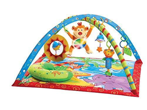 Tiny Love Gymini Monkey Island Palestrina Neonato con Archi Regolabili e Peluche a Forma di Scimmietta, Colori Accesi
