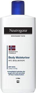 Neutrogena Norwegian Formula Body Moisturizer For Dry Skin 24 Hour Moisturization , 250ml
