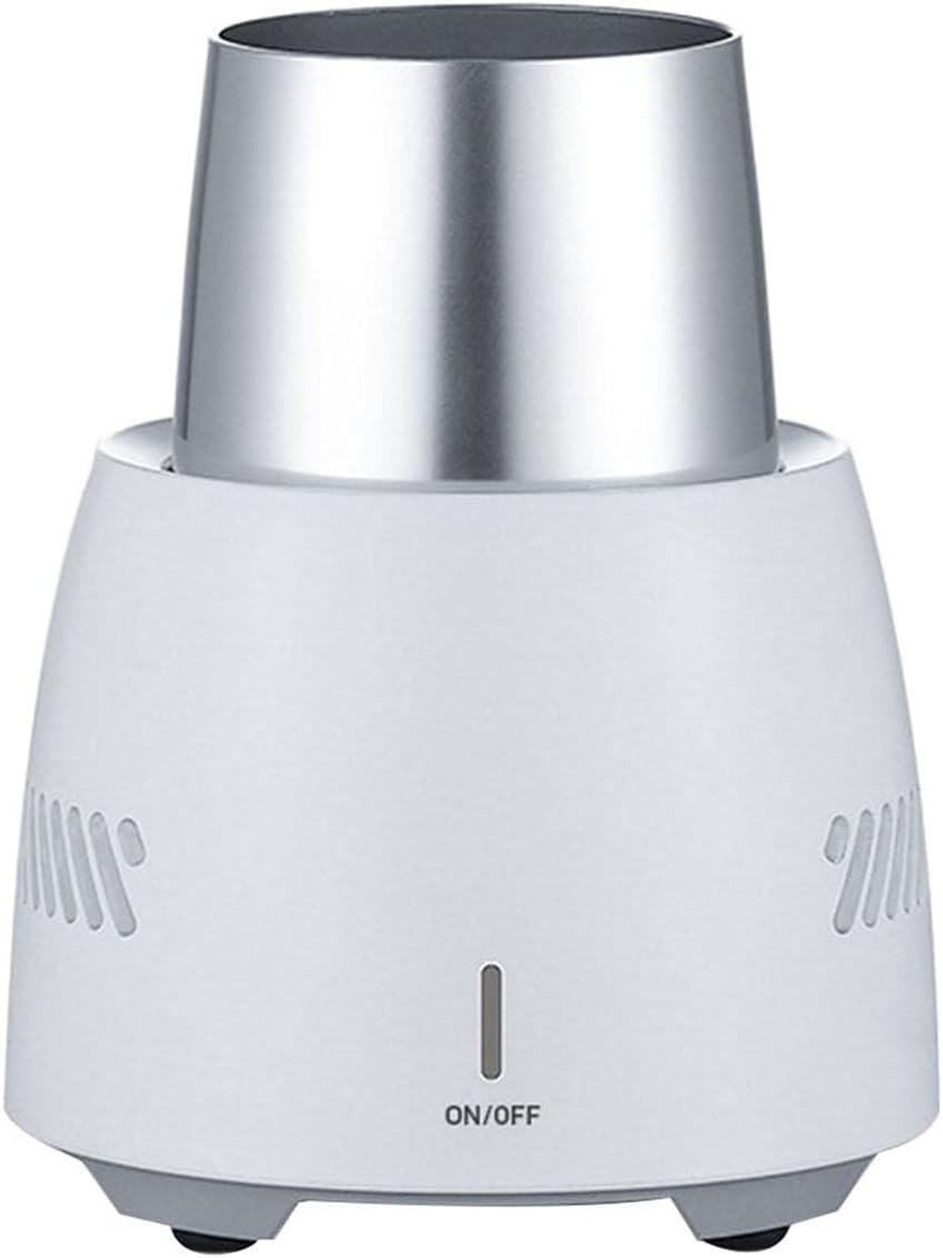 Linsition Enfriador instantáneo de 350 ml, enfriador de bebidas eléctrico, portátil, mini vaso, enfriamiento rápido, para cerveza, bebidas, lata, helado
