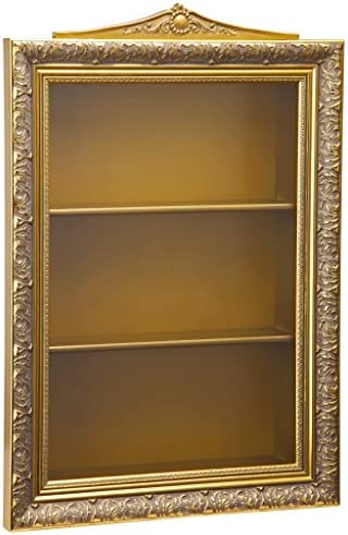 Design Toscano Eggs of The Tsar Wall Curio Display Cabinet 18 Inch Gold product image