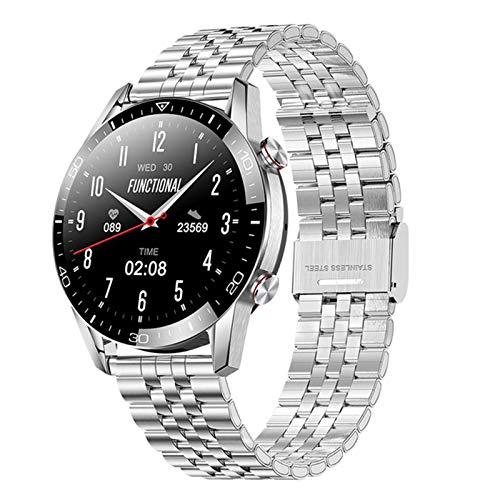 ZBY Adecuado para Ios Android TK28 Smart Watch Bluetooth Call Smartwatch Hombre y Mujeres Deportes Reloj de Pulsera de Fitness D