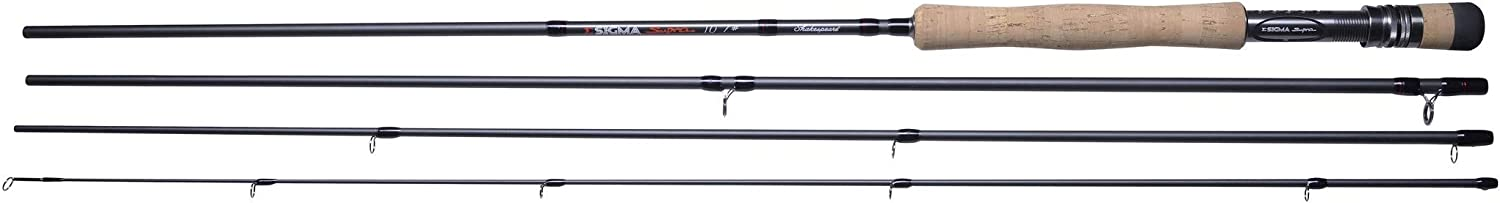 11ft Salmon Fly Fishing Rods 7ft Shakespeare Sigma 4 Piece Supra Trout