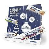 Energybody Riegel Adventskalender 2020 | Proteinriegel, Haferriegel & Ausdauerriegel | Ideale Geschenkidee für Sportler | 26 Fitness Riegel