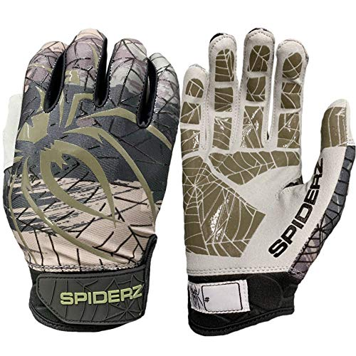 Spiderz LITE 2019 Adult Baseball/Softball Batting Gloves