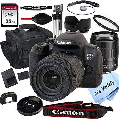 Canon EOS 850D (Rebel T8i) DSLR Camera with...