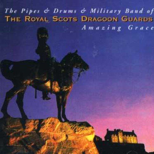 The Pipes and Drums and the Military Band of the Royal Scots Dragoon Guards - Amazing Grace