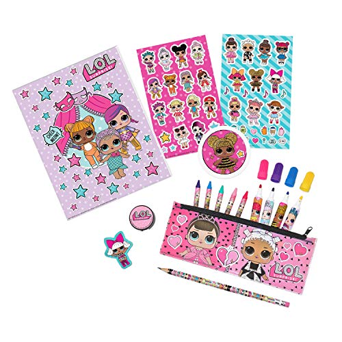 L.O.L. Surprise! 01643 Stationary Set Over 30+ Piece, Multicolor