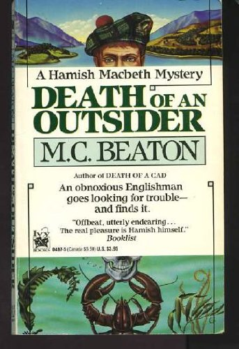 Death of an Outsider (Hamish Macbeth Mysteries,... 0804104875 Book Cover