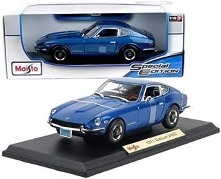 New 1:18 W/B SPECIAL EDITION - BLUE 1971 Datsun 240Z Diecast Model Car By Maisto