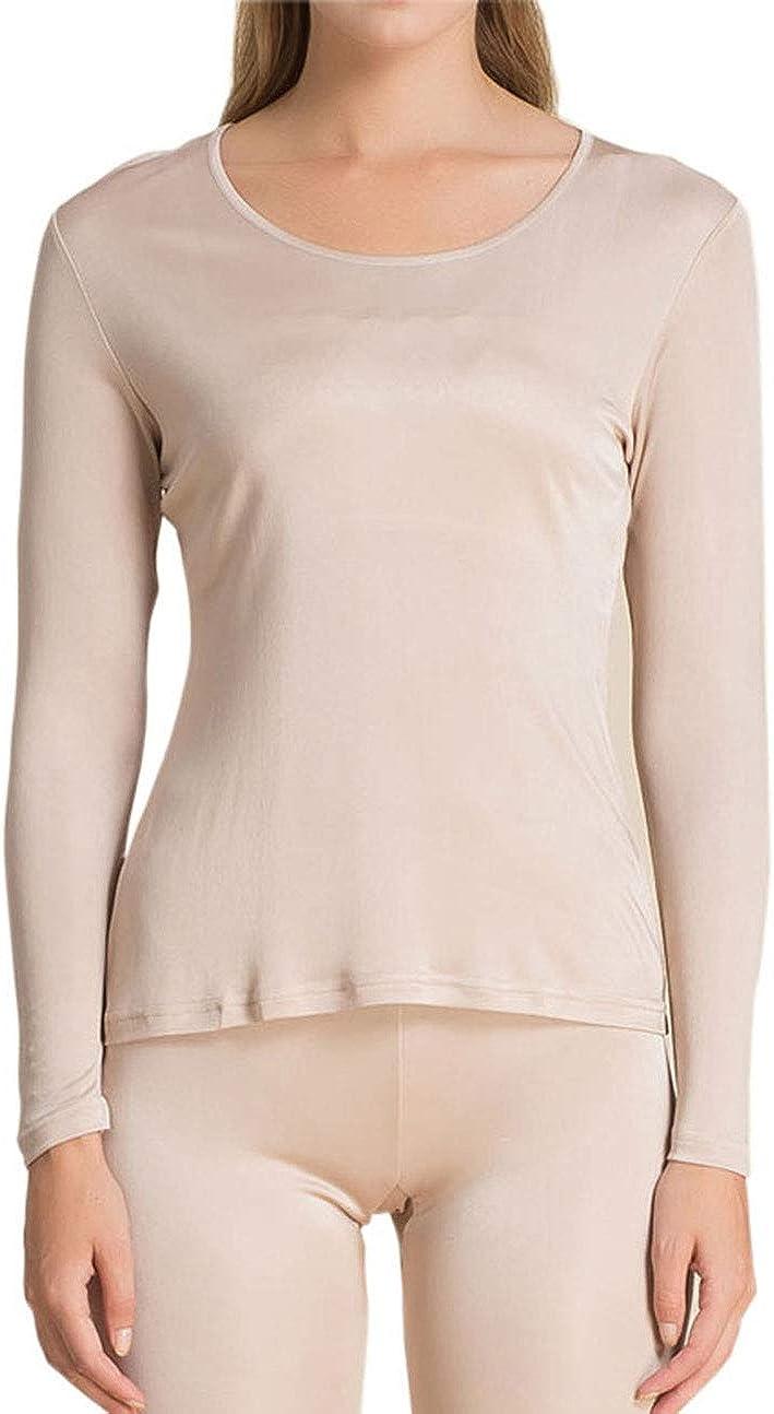 Paradise Silk Pure Silk Knit Women Underwear Long Johns Top Only