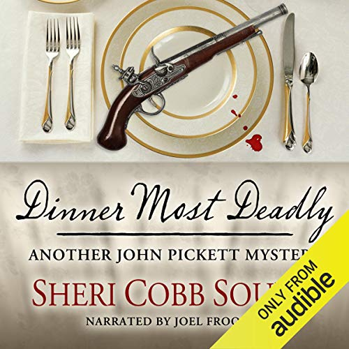 Dinner Most Deadly audiobook cover art