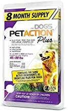 Pet Action Plus for Dogs, 8 Doses - 45 to 88 lbs.