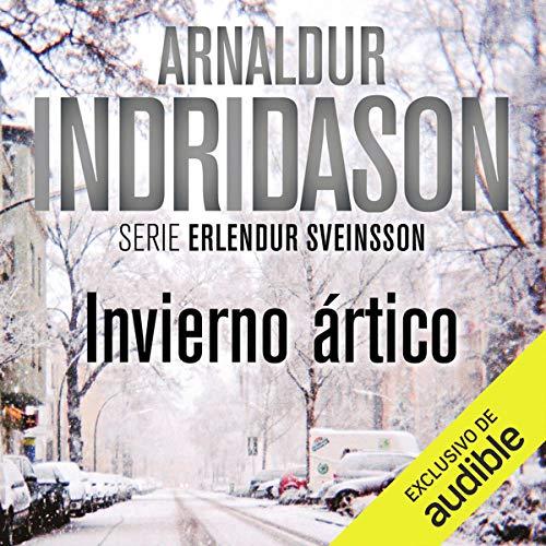 Diseño de la portada del título Invierno Artico