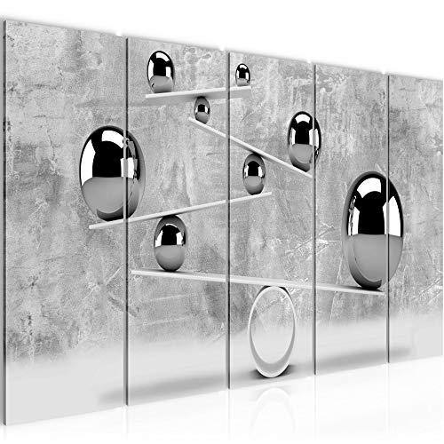 Bild 3D Kugeln Kunstdruck Vlies Leinwandbild Wanddekoration Wohnzimmer Schlafzimmer 504356b